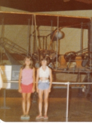 Me & Jenny Baldini on vacation in 1977